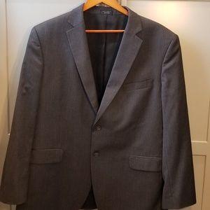 Men's Jones New York Dark Grey Blazer (46R)